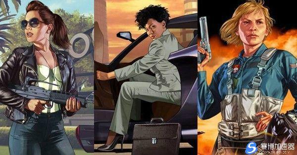 R星即将推出:《GTA6》系列史上首位女主角?网友坐不住了!