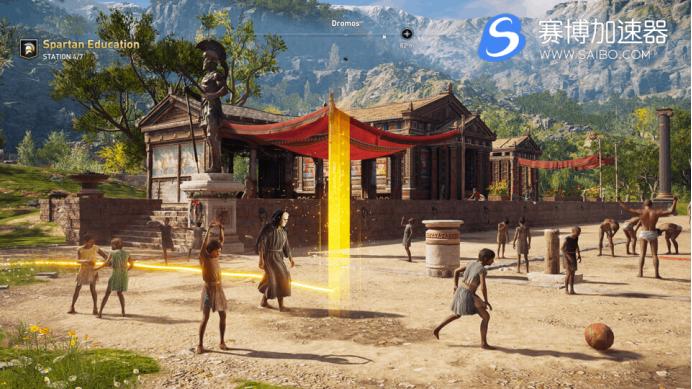 游戏加速器速报:《发现之旅:古希腊》正式开售 《刺客信条:奥德赛》玩家可免费获取