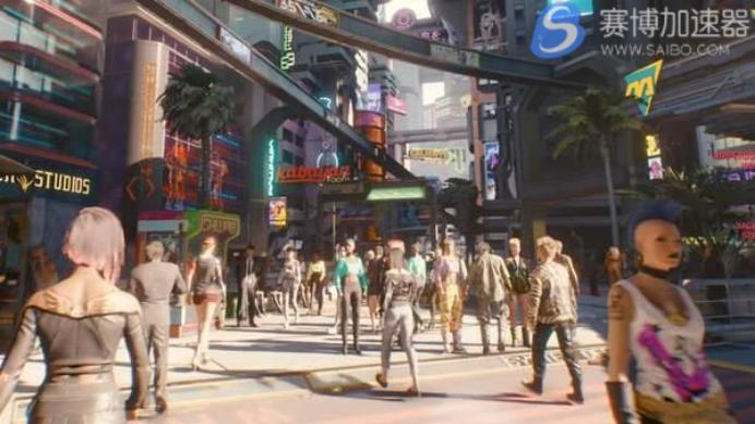 《赛博朋克2077》地图大小将是GTA5的1.5倍大 玩家乘轻轨需买票