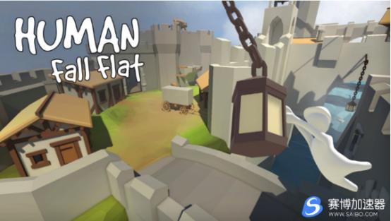 """游戏加速器宣布《人类:一败涂地》免费新关卡""""冰雪""""正式上线Steam"""