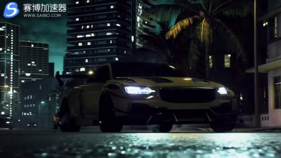 游戏加速器宣布《极品飞车:热度》发售 昼夜狂飙场面极致刺激
