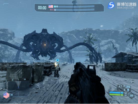 免费加速器宣布《孤岛危机》打造合作Mod 与好友联机玩单人战役