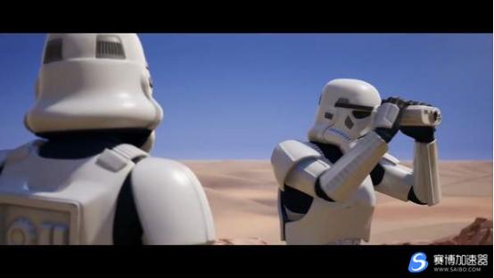"""《堡垒之夜》获得""""帝国冲锋队""""皮肤的方法,购买游戏《星战绝地》加速器可以?"""